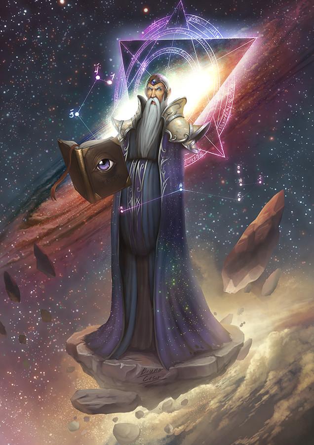 Bruno cesar cosmic archmage