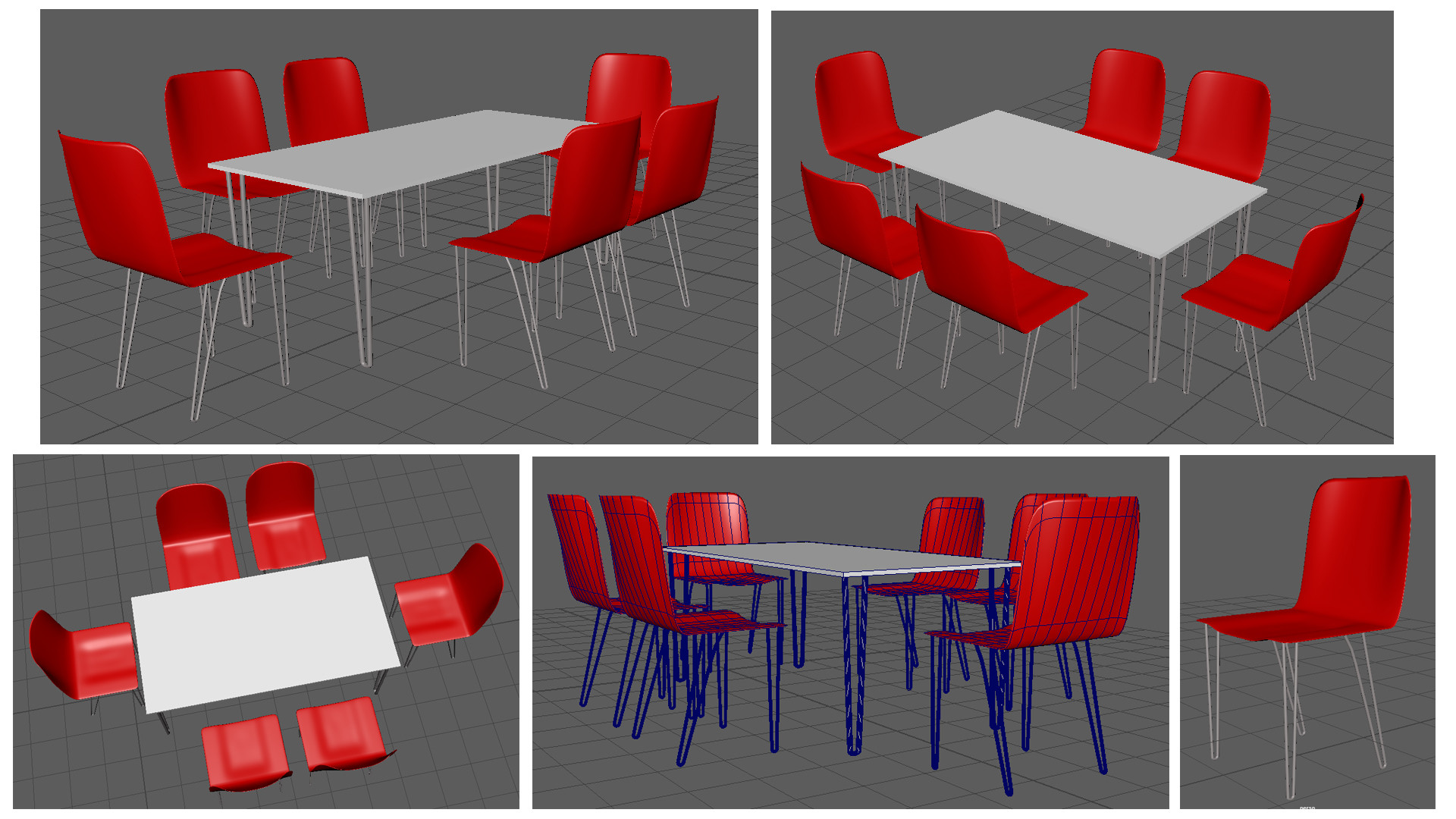 Rajesh sawant table and chairs