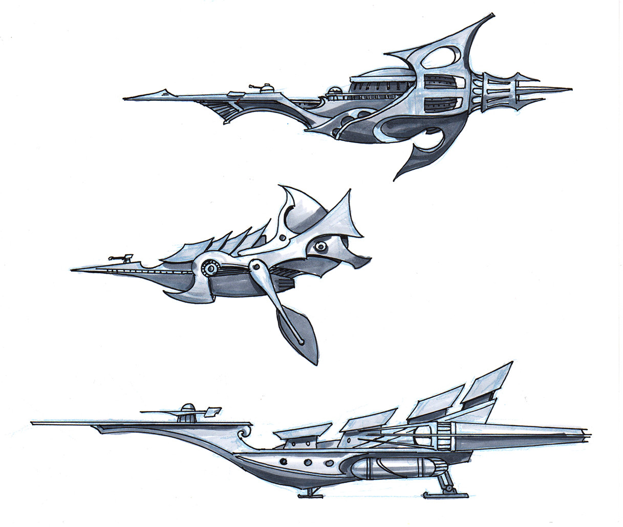 9th Ray Ships