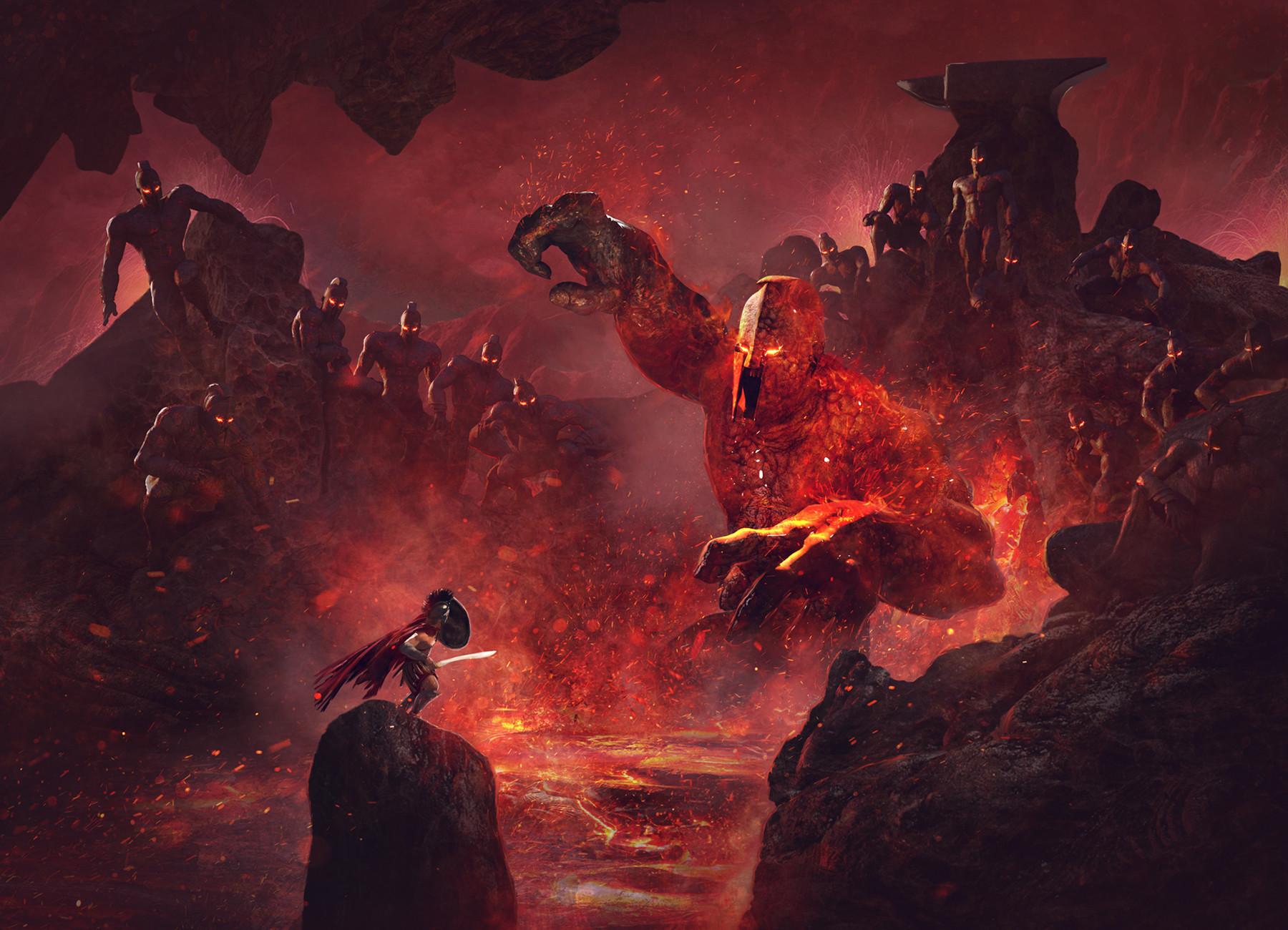 Mythic Battles Pantheon: Hephaestus Expansion Cover