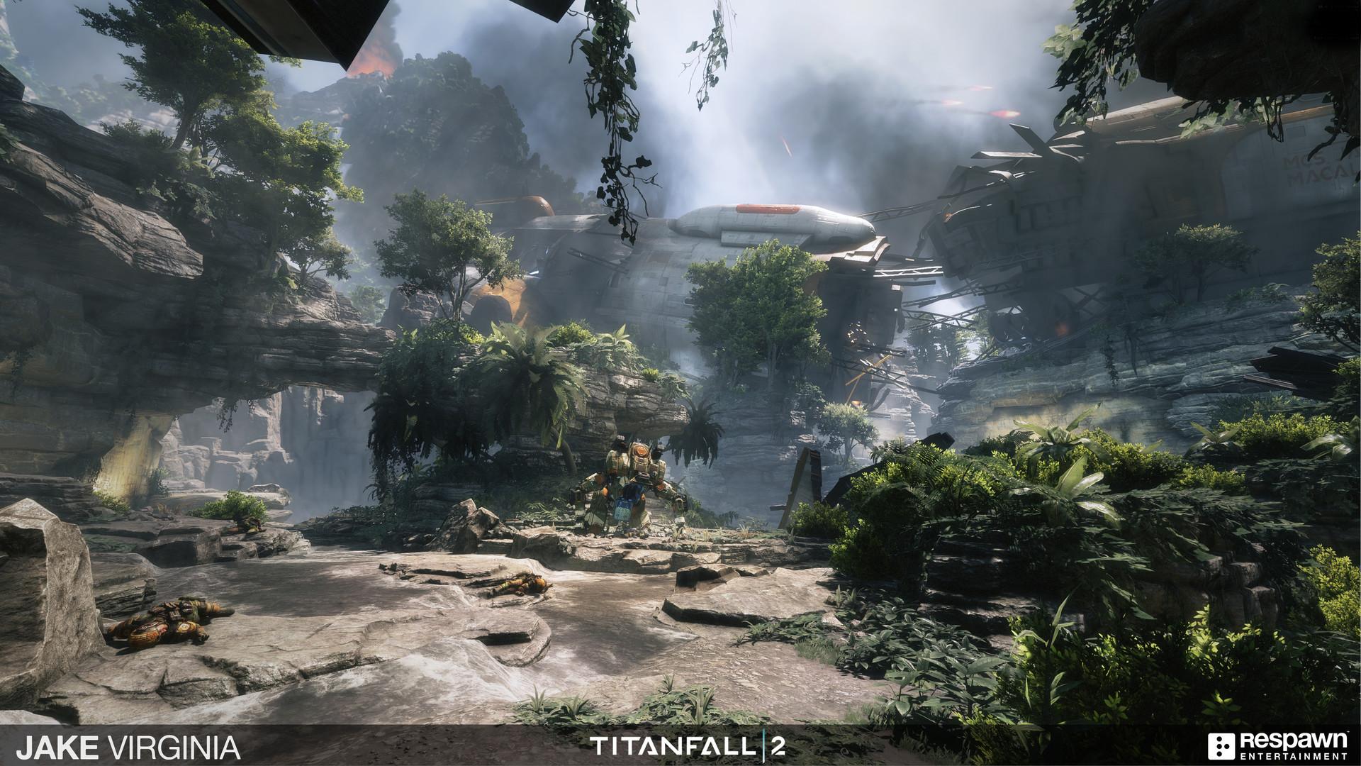 ArtStation - Titanfall 2 - Crashsite, Jake Virginia