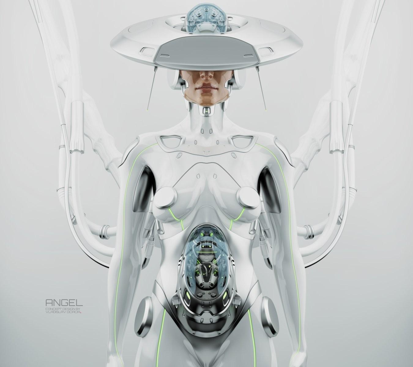 Vladislav ociacia robot woman 10