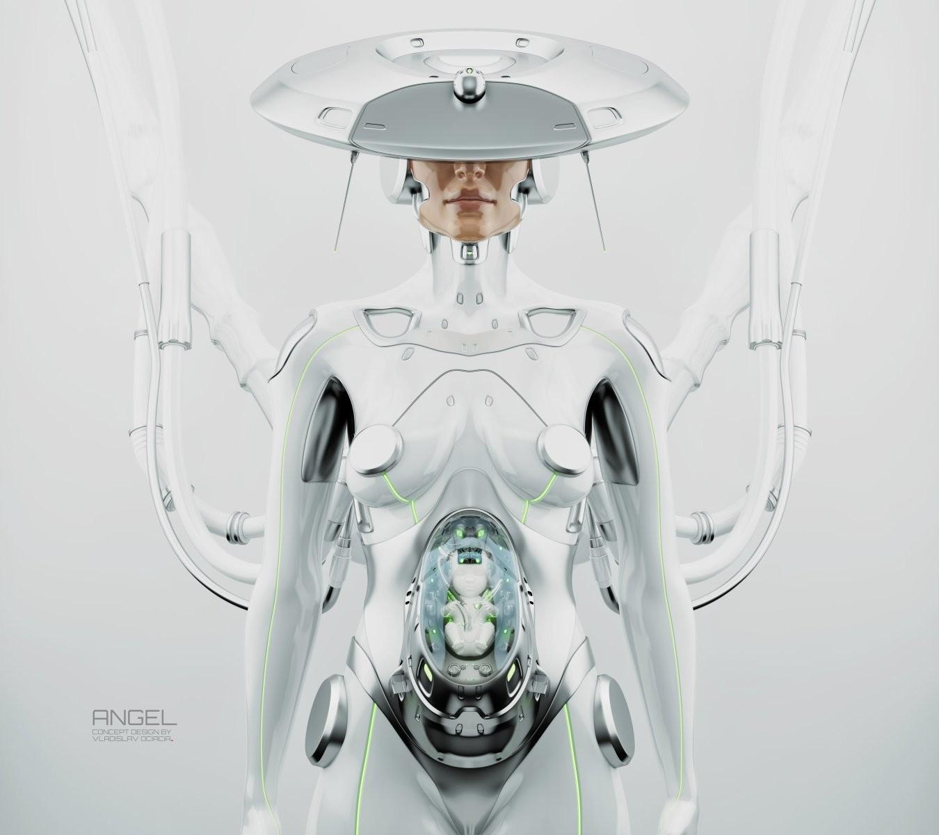 Vladislav ociacia robot woman 6