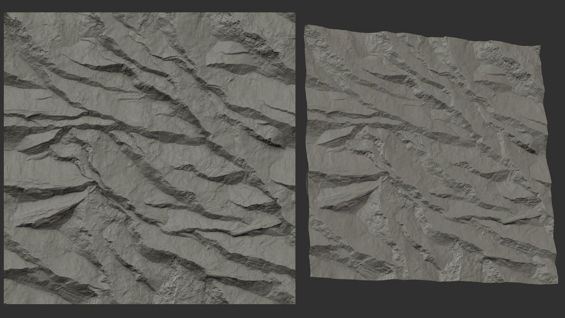 Najim filali saksak cliff texture2 2k