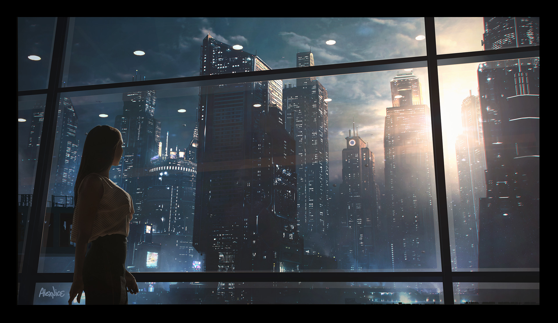 Alex nice futuristic city alexnice