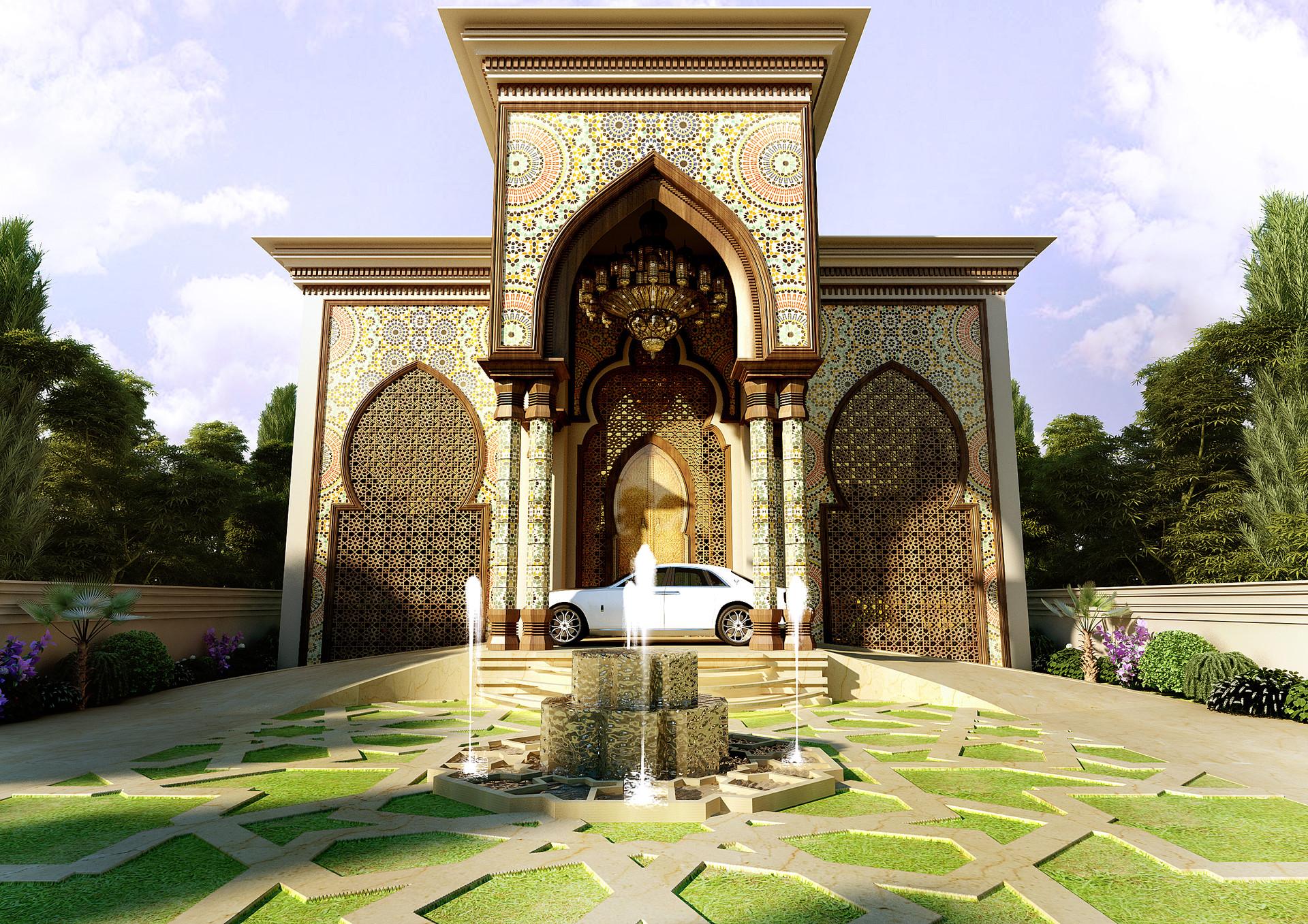Spanish Villa Style Homes Usmaan Mukhtar Moroccan Villa Saudi Arabia
