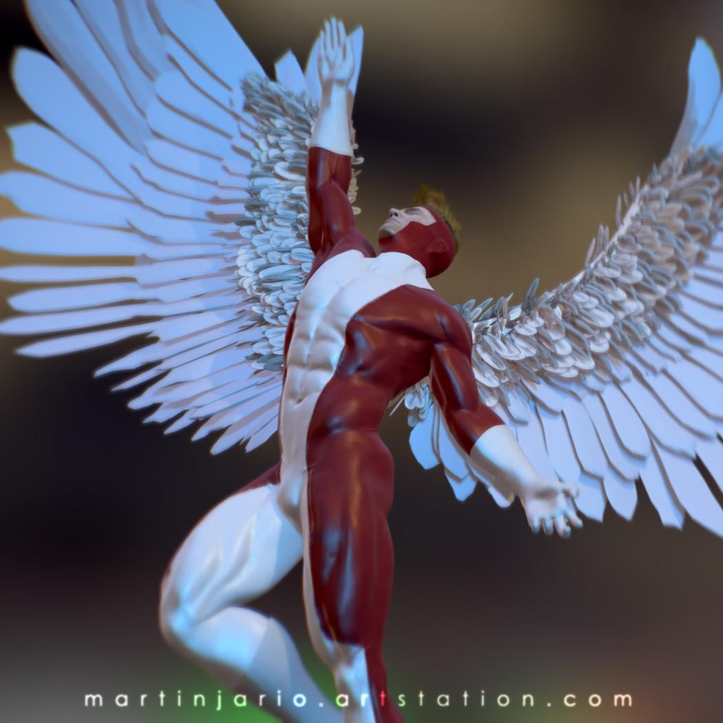 Martin jario martinjario angel fanart