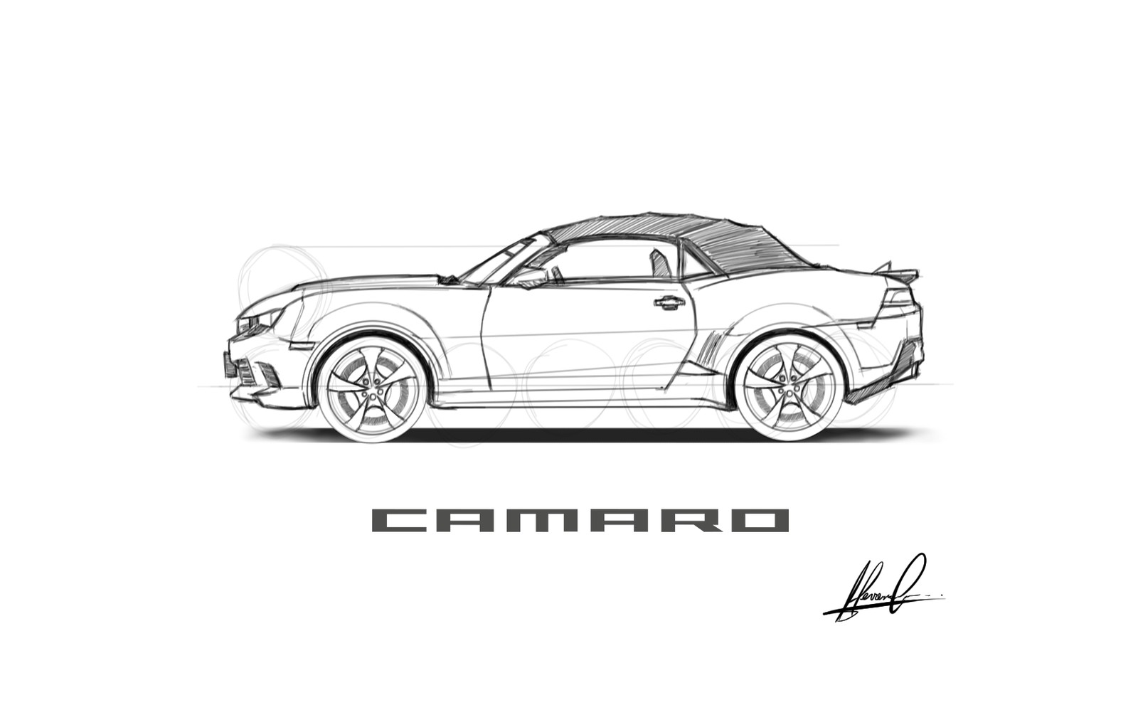Study Camaro convertible