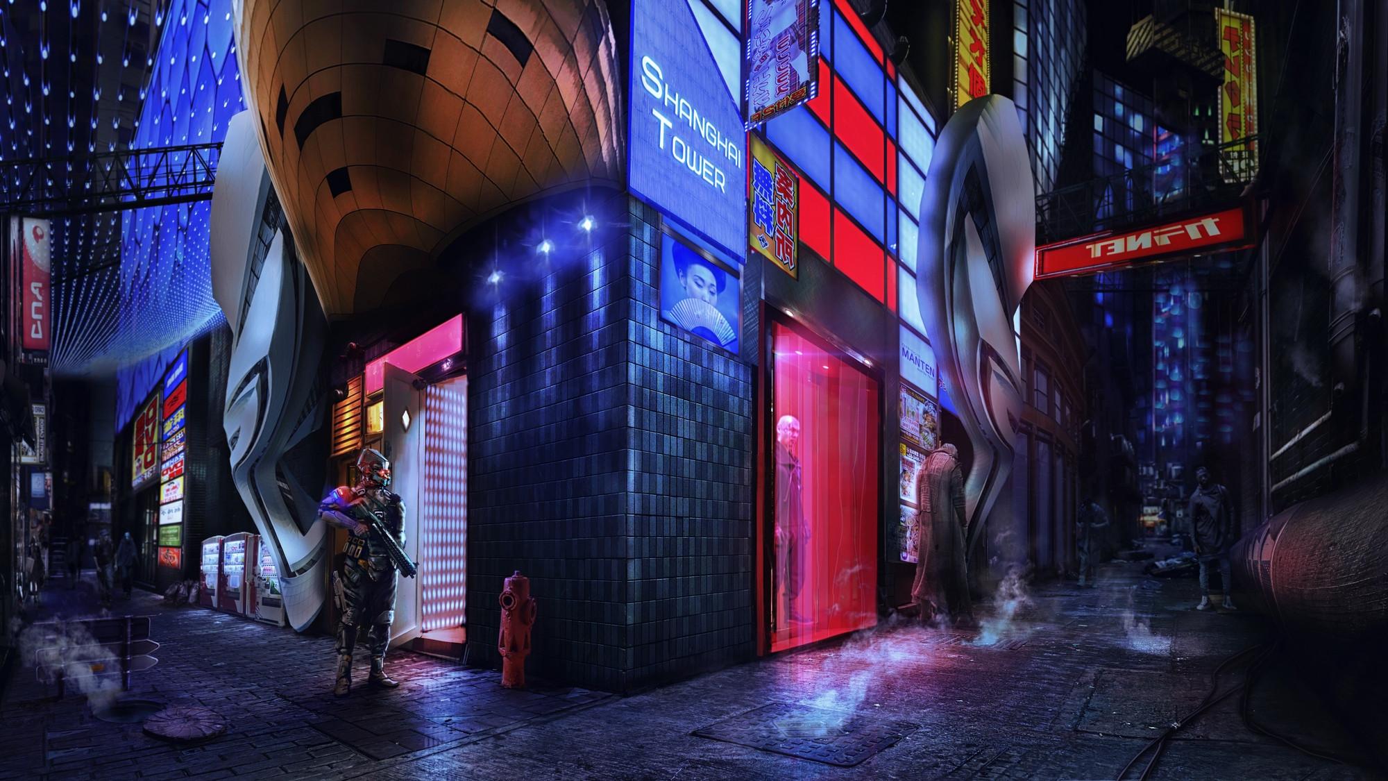 2D Shanghai 2020: Tower