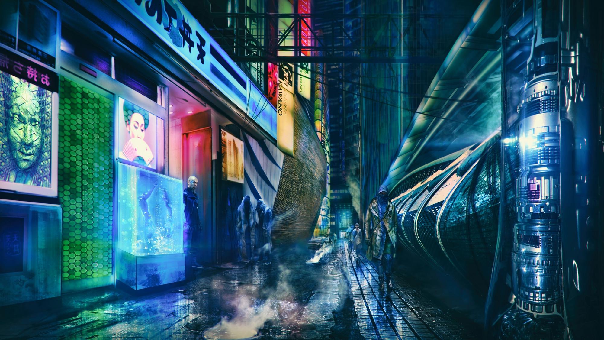2D Shanghai 2020: Dark Streets