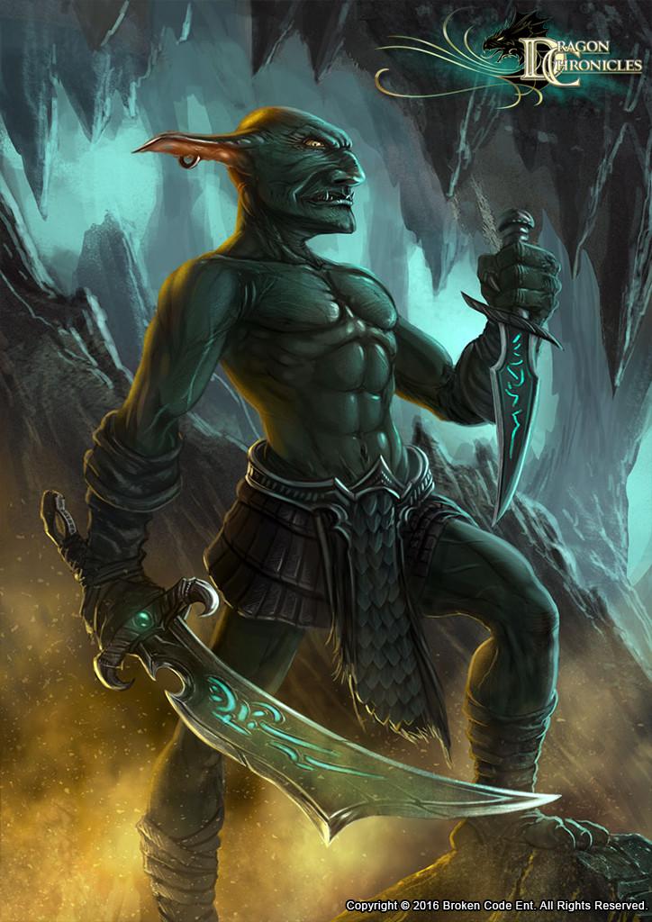Cave Goblin - Dragon Chronicles