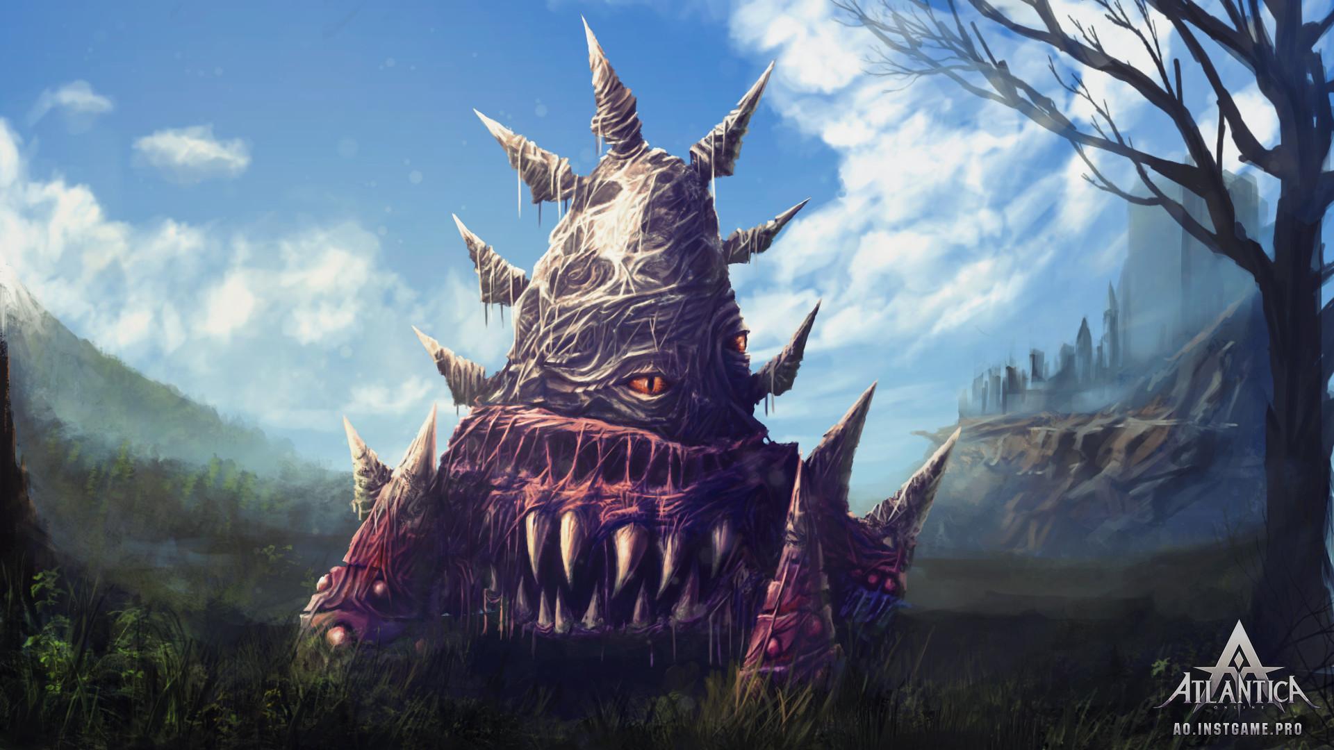 ArtStation - Monster for Atlantica Online, Valeriy Goncharenko
