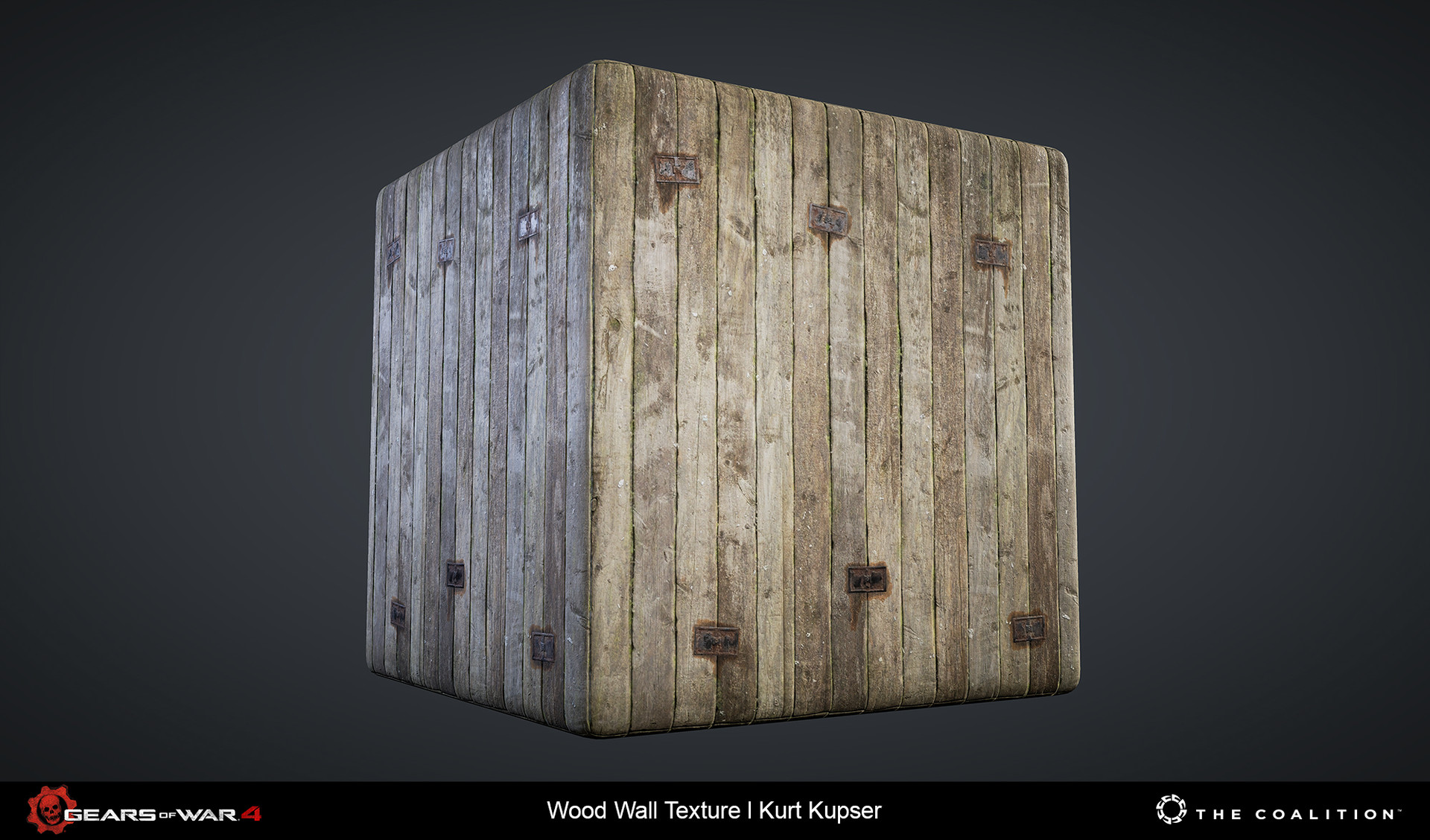 Kurt kupser wood wall
