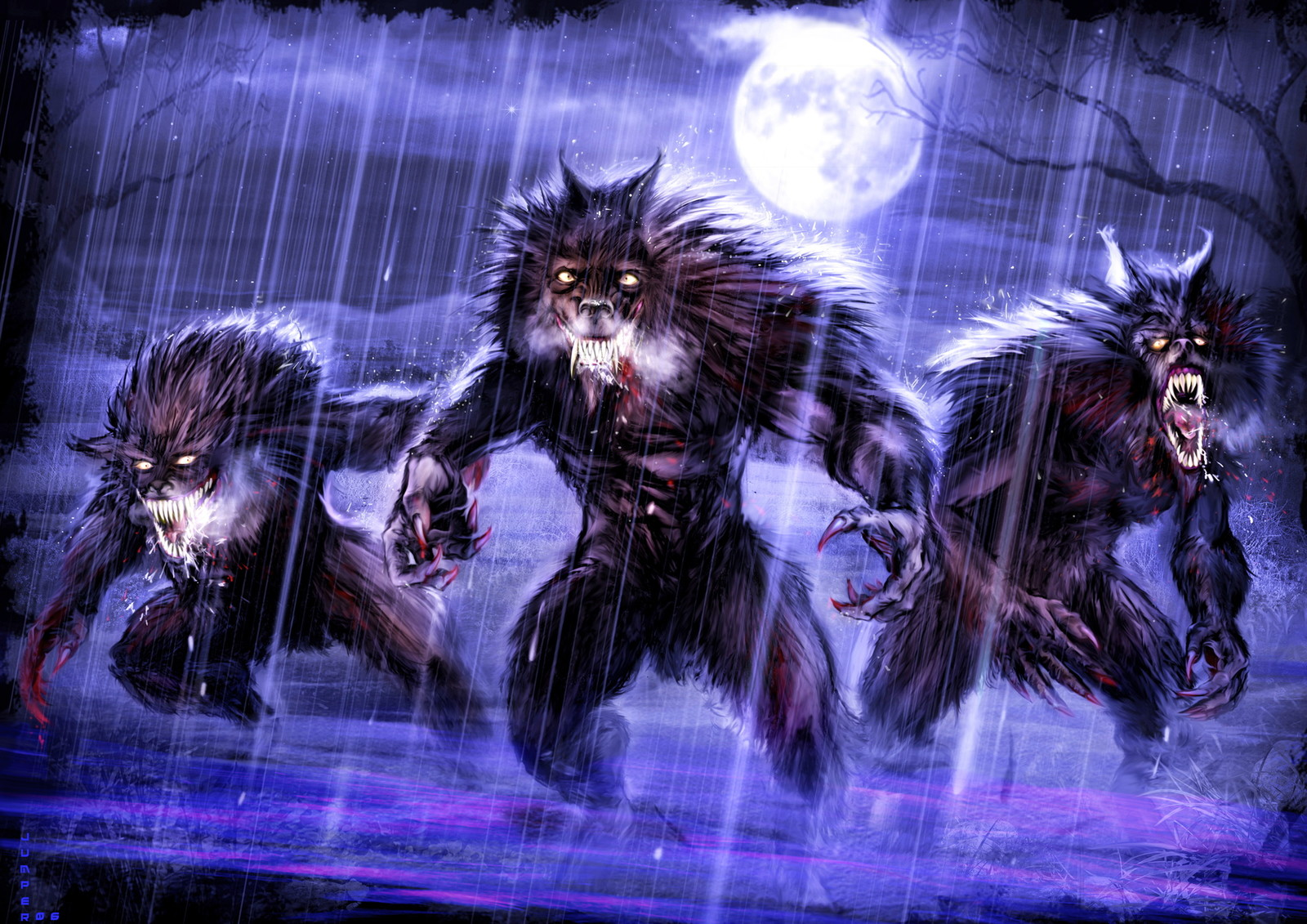 WereWolves at Night