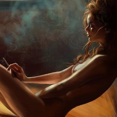 Agnieszka antosiewicz kobieta z papierosem1