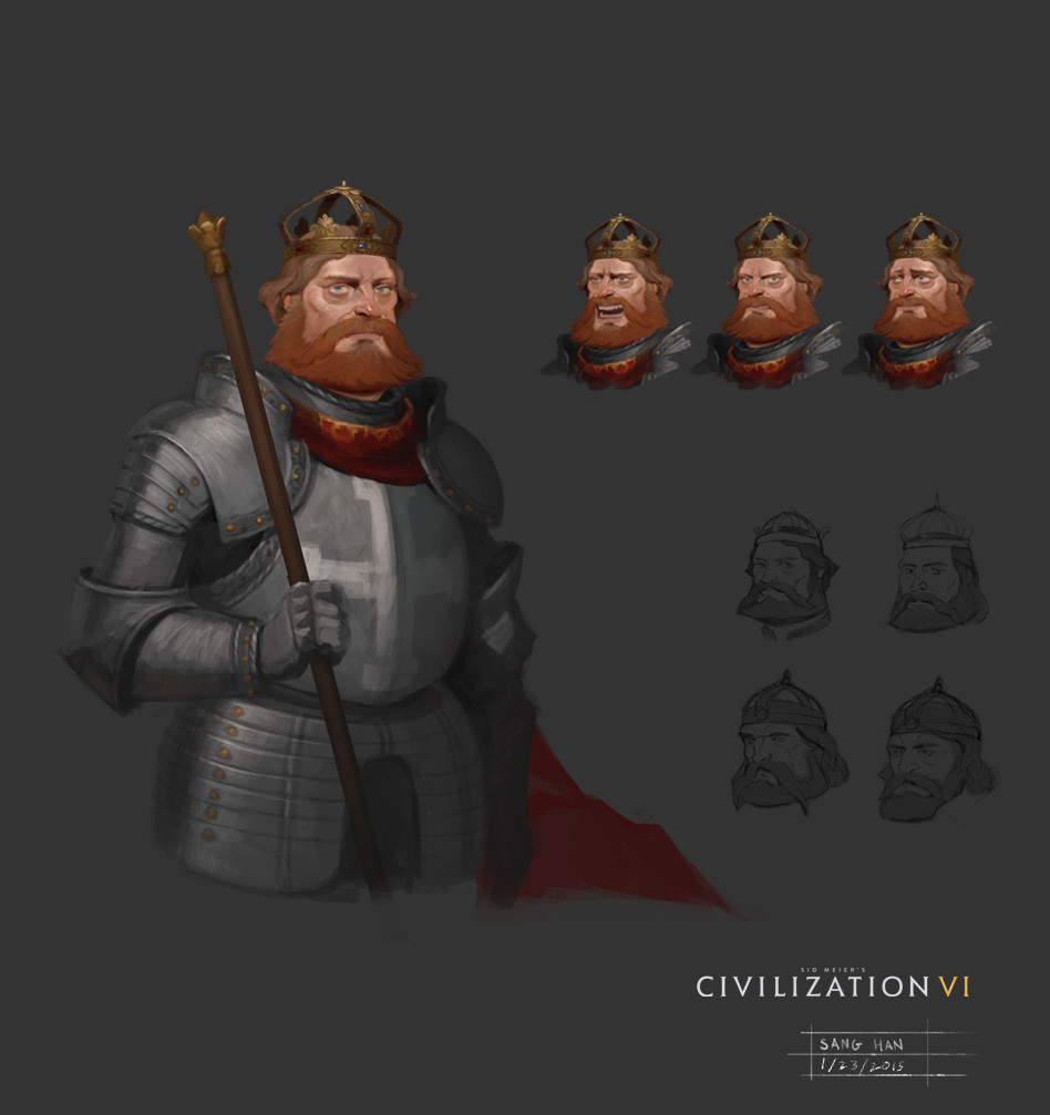 Civ 6 Leader Barbarosa