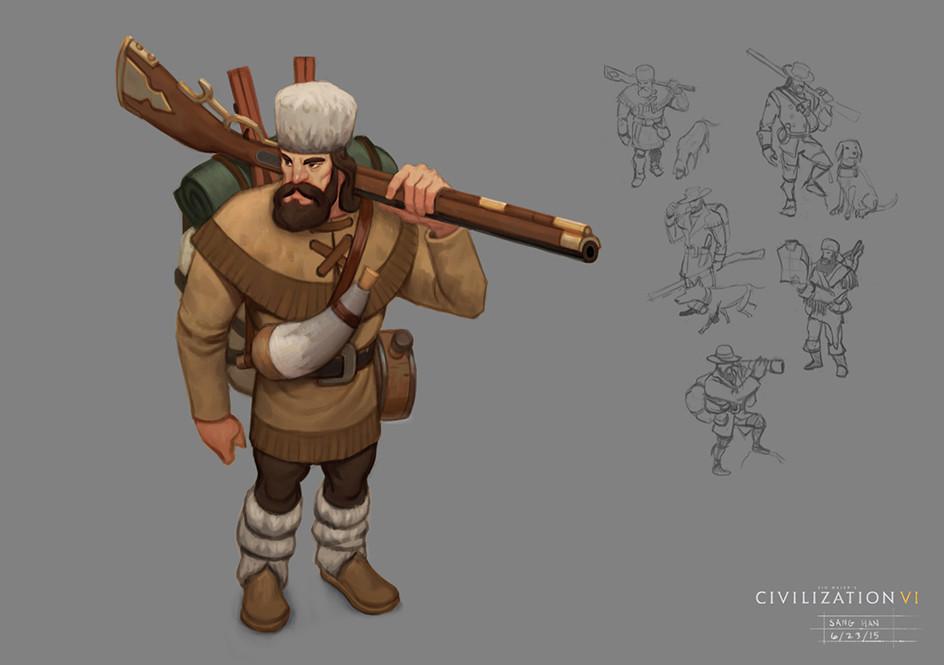 Civ 6 Ranger