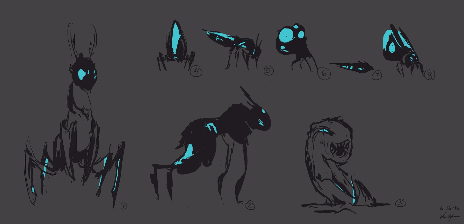 Cave - Creatures