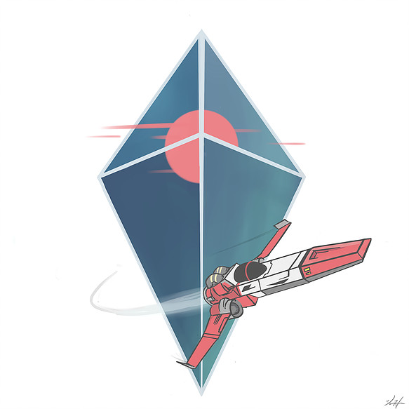 No Man's Sky - Newspaper Article Graphic