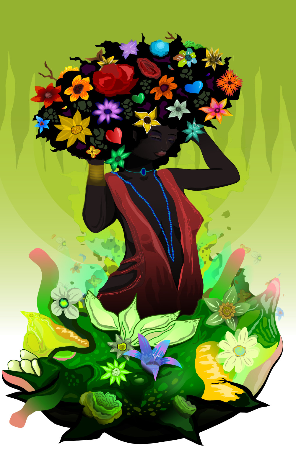 Kevin philippe afroflowers
