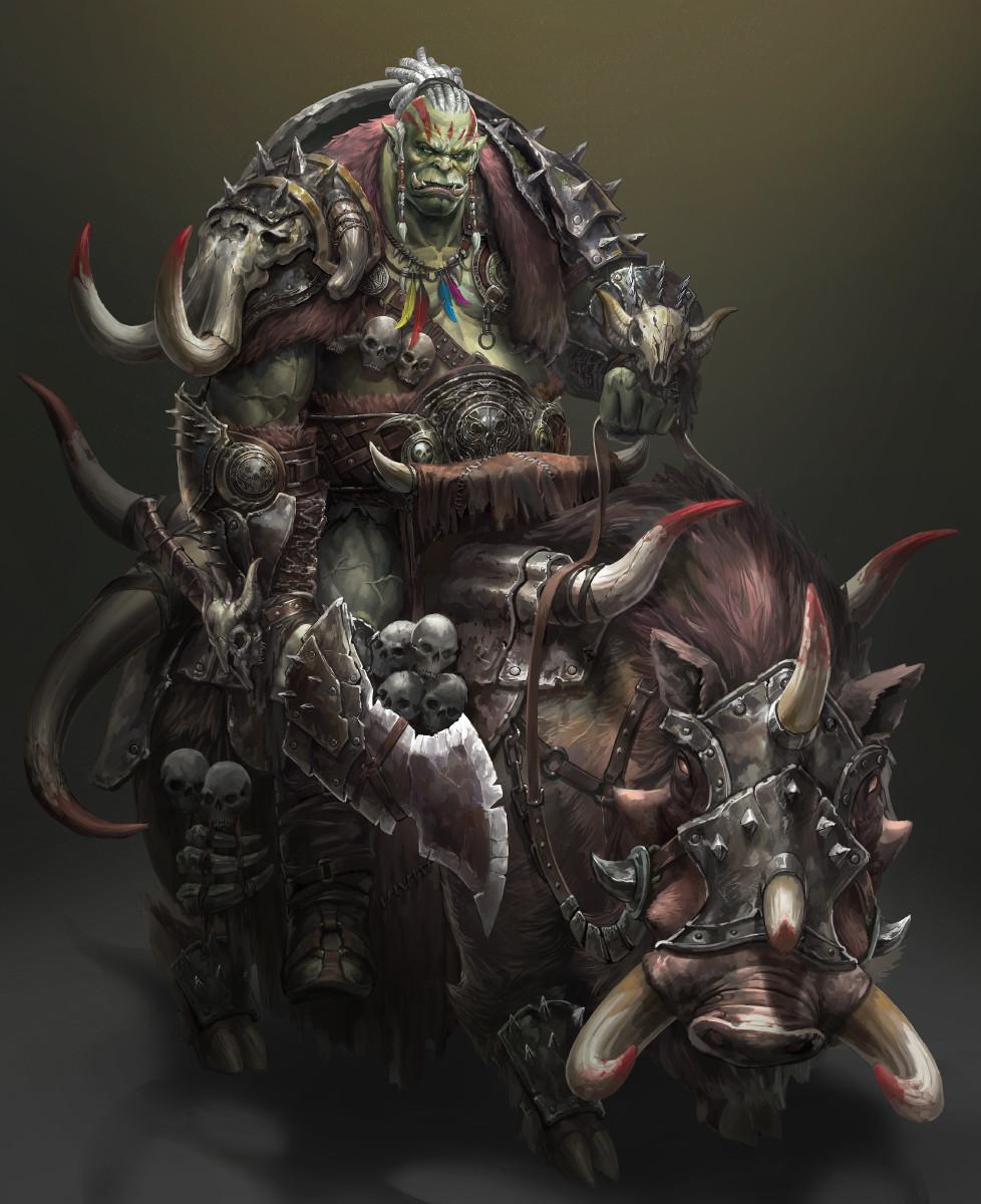 imaginary orcs