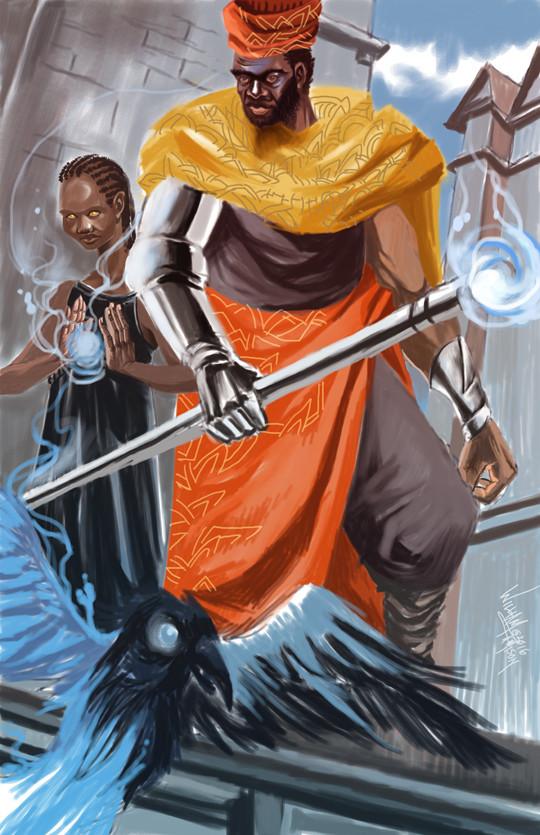 Afromation art moor