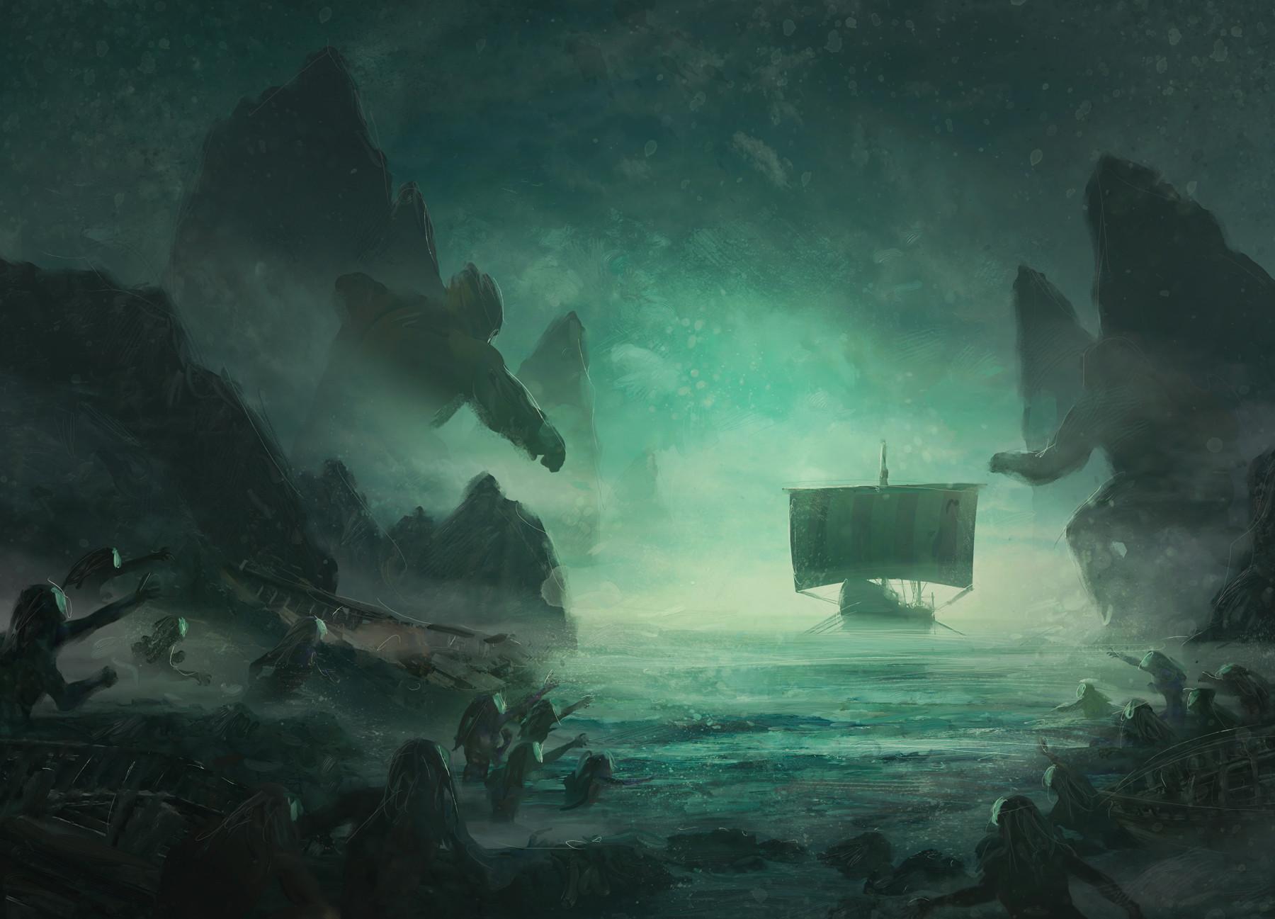 Guillem h pongiluppi board cover mythic battles poseidon concept2