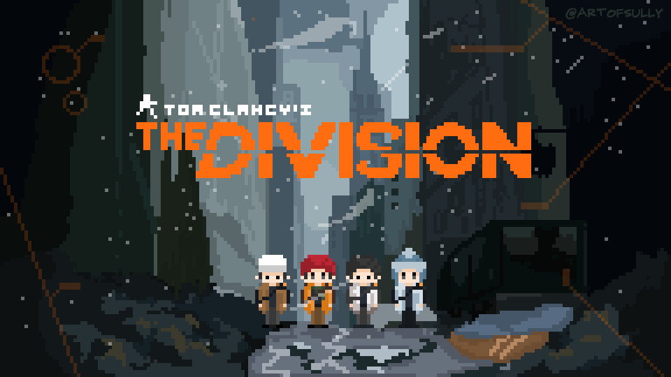 'Division's Elite' - The Division Pixel Art