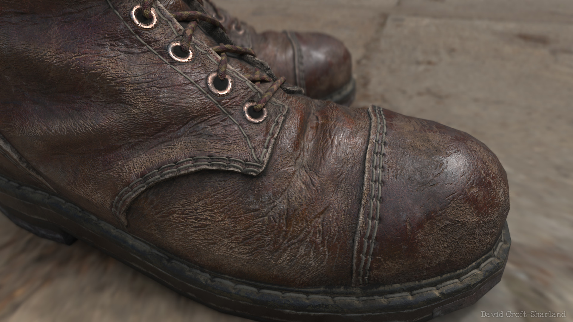 David croft sharland toe