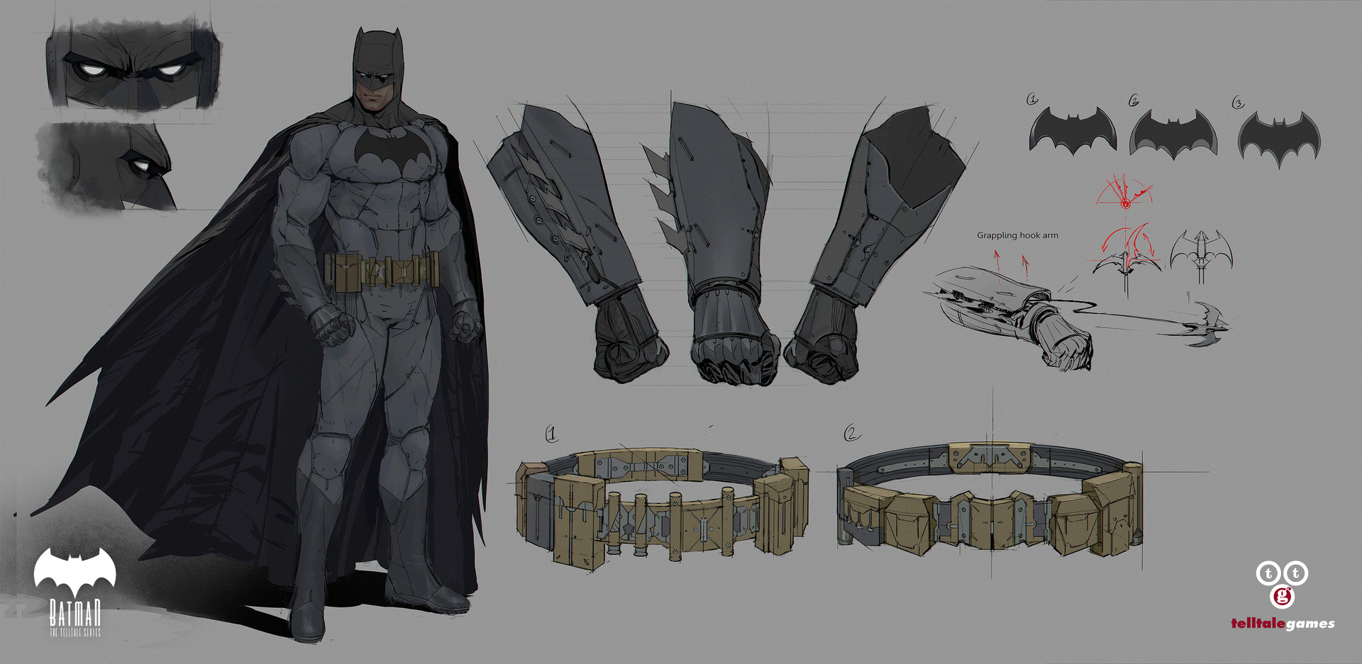 Michael Broussard Batman amp Bruce Wayne