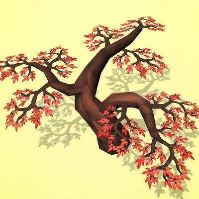 Jack sturgeon red tree unity render