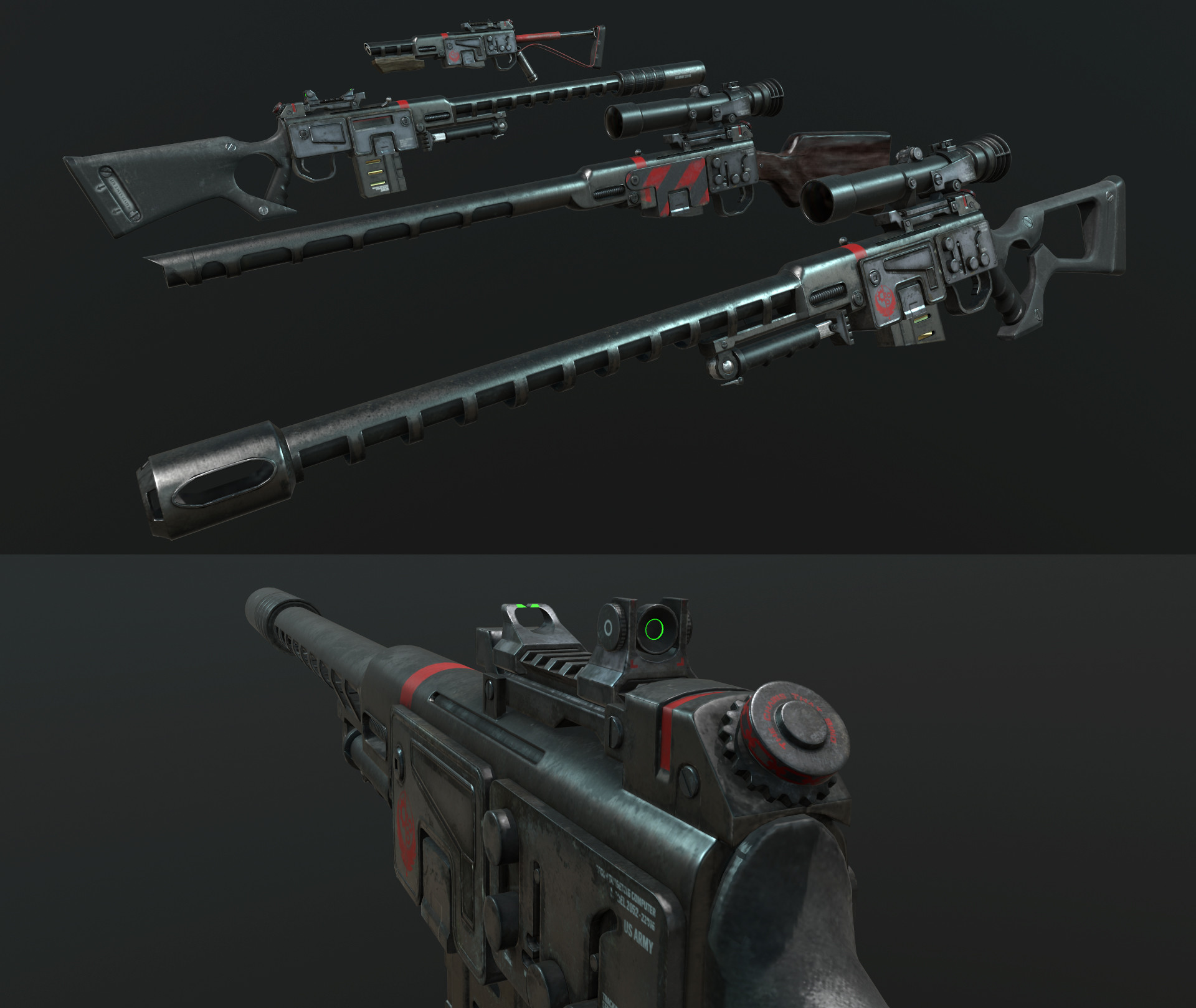 Ben bickle fo3 sniper cos