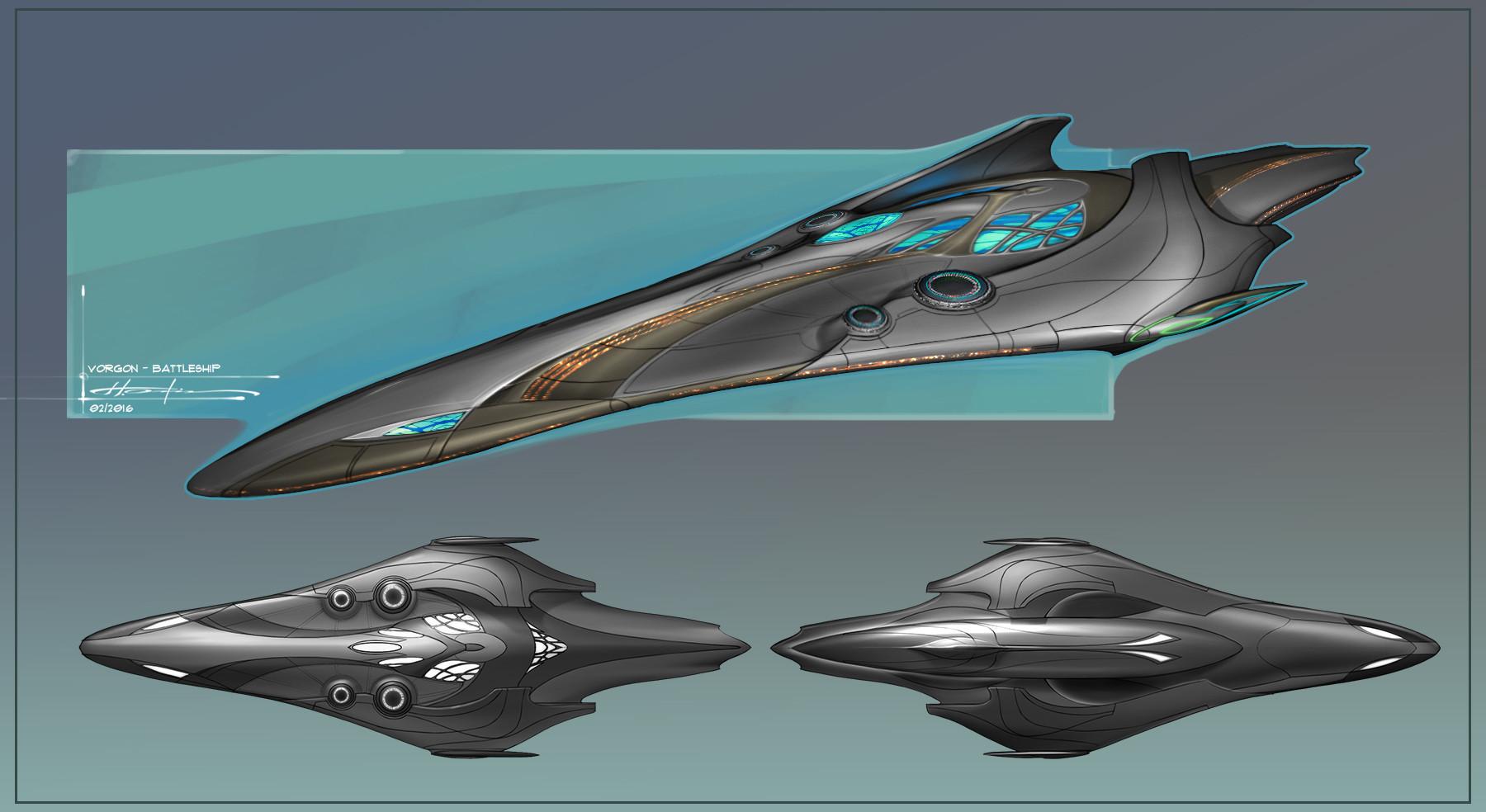 Hector ortiz vorgon battleship