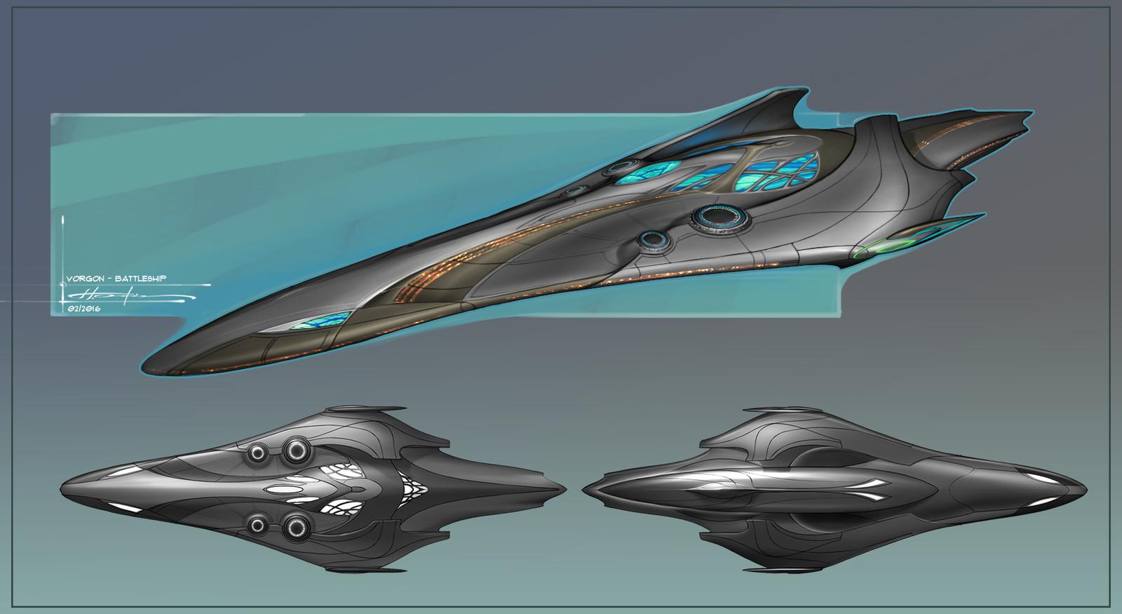 Vorgon Battleship