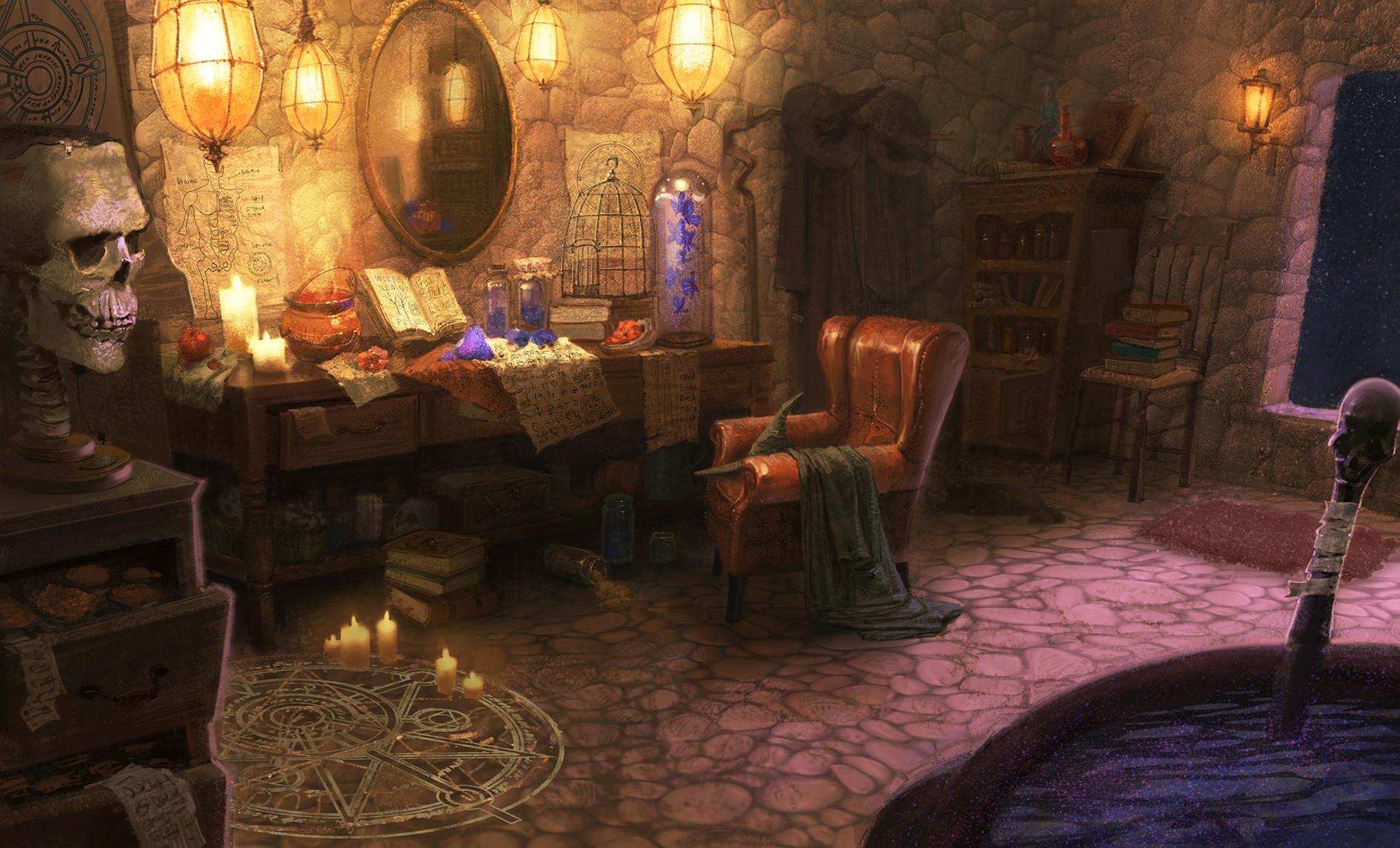капотом серая дом волшебника фото демон должен избежать