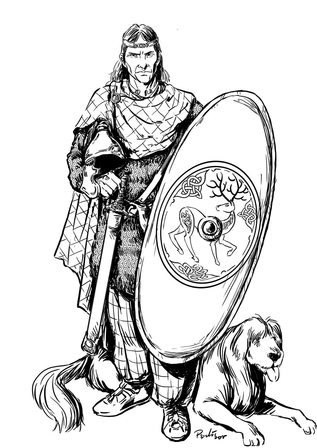 Axelle bouet roi celte 1100