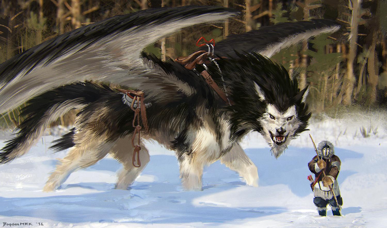 Silver Wolf Guild Spells/Pet/Assets Bogdan-marica-bogdan-mrk-malamute-dragon