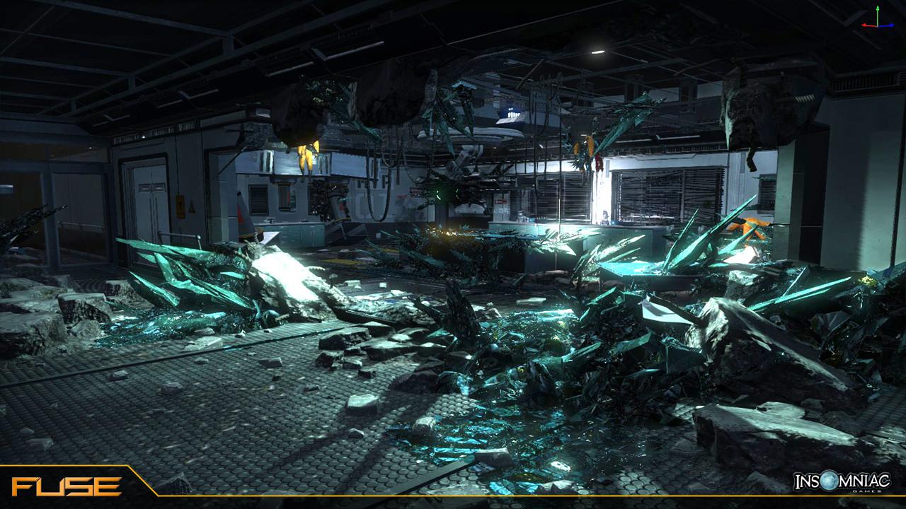 ArtStation - Fuse- Insomniac Games, Jason Priest