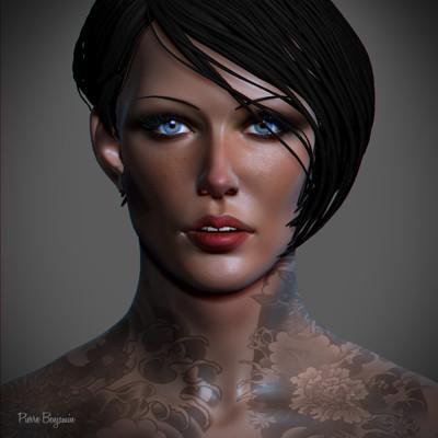 3D Sculpt Woman - WIP