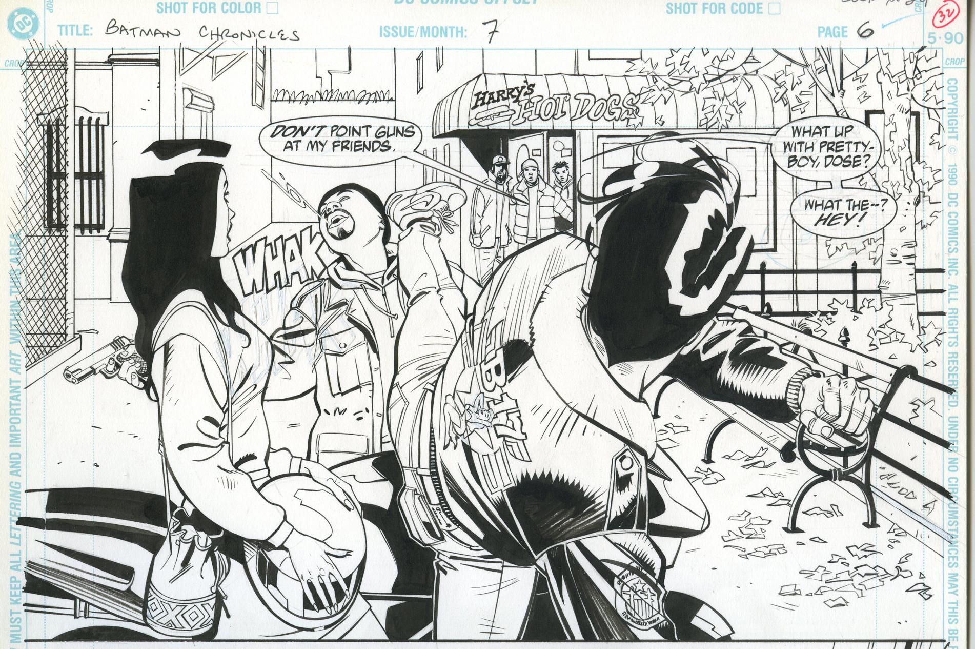 Rodolfo damaggio nightwing page2100