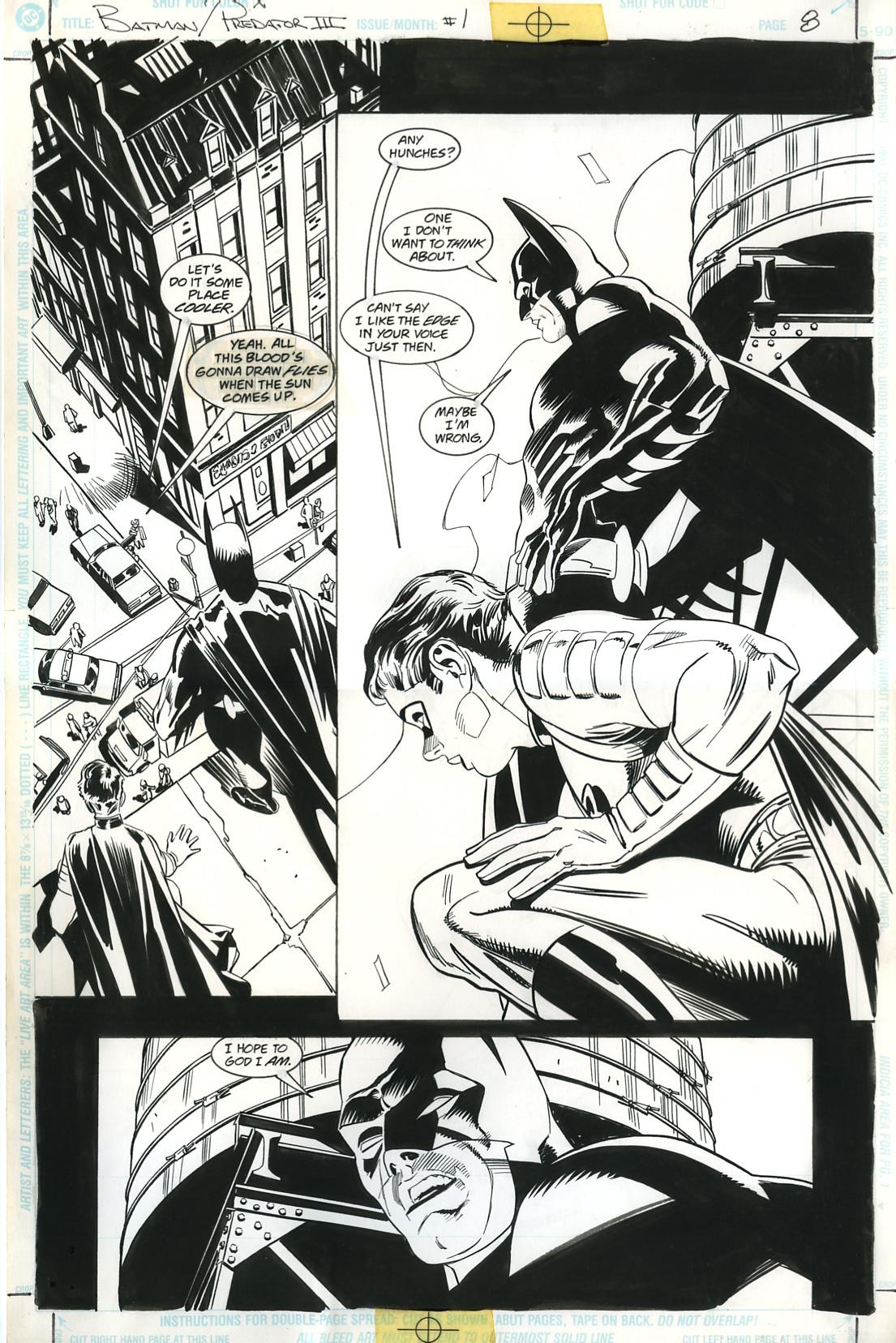 Rodolfo damaggio batman vs predator