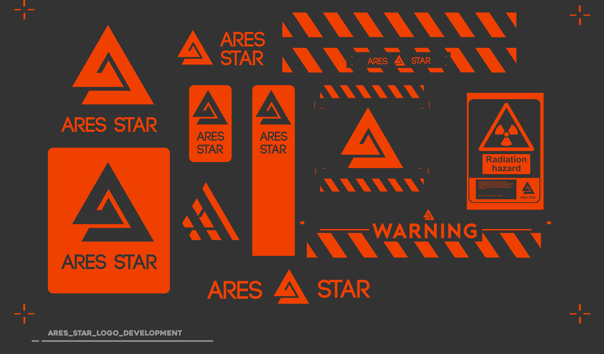 Alex thomas aresstar logo sheet