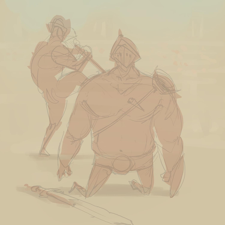 Gladiator sketch