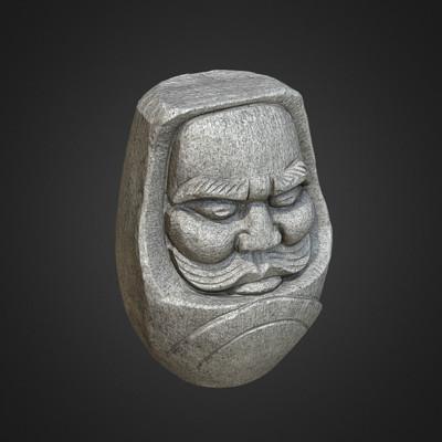 Vlx kuzmin stone daruma