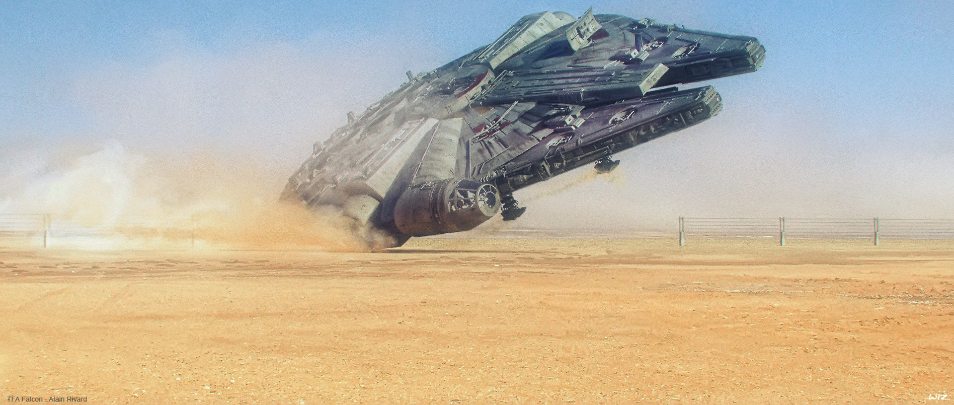 Paul wiz johnson force awakanes jakku escape