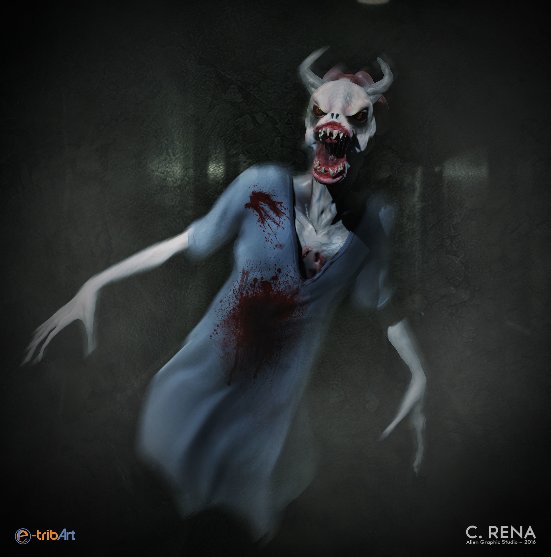 Chris rena hospital demon comp final