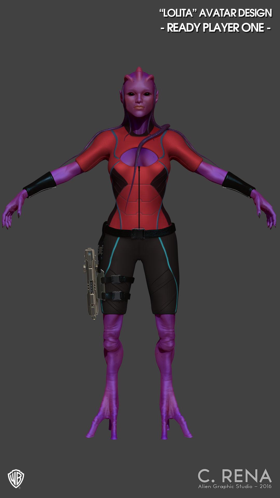 Chris rena chris rena avatar character front render2
