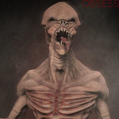 """Obsession"" Alien Design"