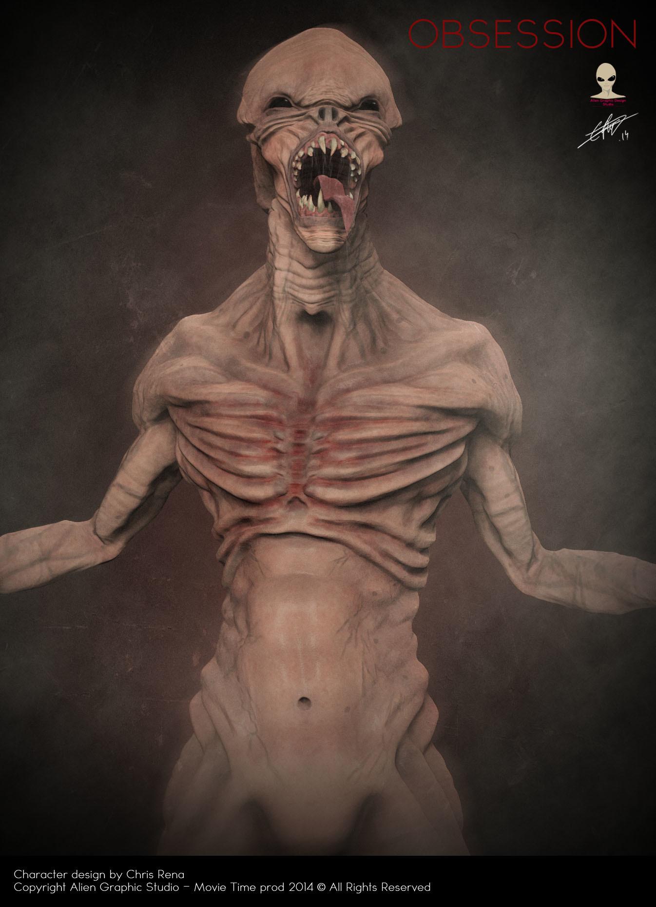 Chris rena creature conceptart