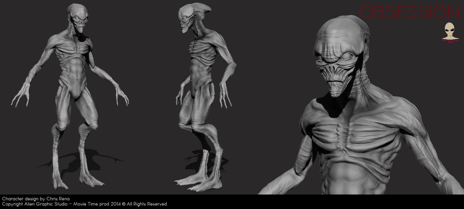 Alien quick render